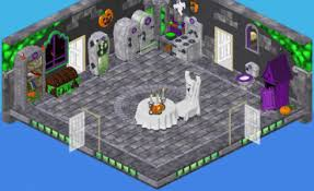 the haunted house theme is back in the w shop on october 9 for a limited time hop onto your broomstick and fly there to check out spooky items you can use check haunted house
