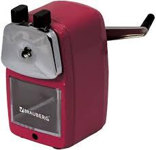<b>Brauberg Точилка Red</b> Power 222099 — купить в интернет ...