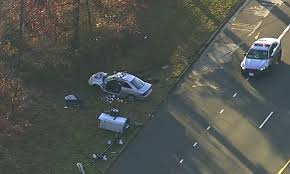 person trapped in car after crash into md speed camera wjla 1 person trapped in car after crashing into speed camera in maryland photo