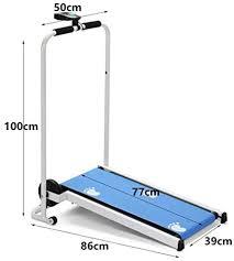 homelikesport Mechanical Folding Treadmill Manual Running ...