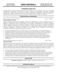 system analyst resume com system analyst resume and get inspiration to create a good resume 4