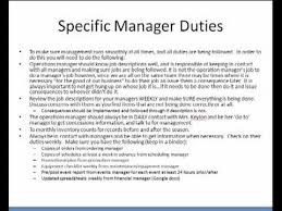 restaurant manager job description    restaurant manager job description resume operations specific manager duties