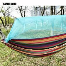 Outdoor Picnic Garden <b>Hammock</b> Hang Bed <b>Portable</b> Travel ...
