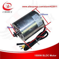 <b>1500W 48V Brushless Electric</b> DC Motor 1500W Electric Scooter ...