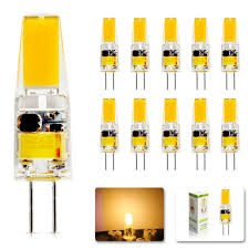 10Pcs/lot 2018 <b>new G4</b> AC DC 12V <b>Led</b> Dimmable <b>bulb Lamp</b> SMD ...