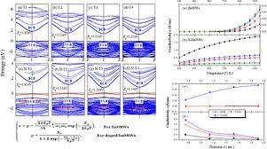 Temperature-and diameter-dependent electrical conductivity of ...