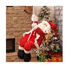 Buy Decdeal <b>Christmas</b> Gifts <b>Decoration Cartoon</b> Fabrics Santa ...