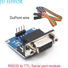 MAX3232 <b>RS232 Serial</b> Port To TTL Converter <b>Module DB9</b> ...