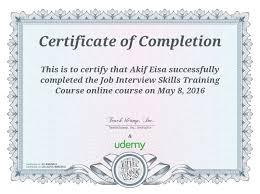 job interviewing class certificate mh gaming job interview skills training