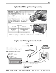 msd ignition wiring diagrams msd digital 6 plus and digital 7 plus ignition installation instructions part 2