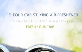 <b>E FOUR Car</b> Original Perfume <b>Air</b> Vent Clip Fresher Clean Smell ...
