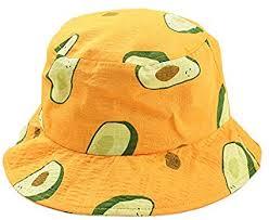 SODIAL <b>Small Fresh</b> Literary <b>Avocado</b> Fisherman Hat Unisex ...