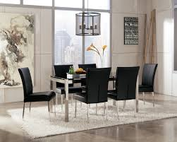 Contemporary Black Dining Room Sets Dining Tables Modern Dining Room Black And White Victorian Style