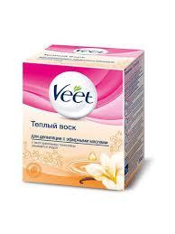 <b>Тёплый воск для депиляции</b> с эфирными маслами 250мл VEET ...