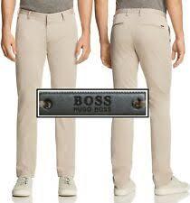 Размер 34 хлопок HUGO <b>BOSS брюки</b> для мужчин - огромный ...