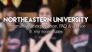 freshman year experience northeastern university sophisr