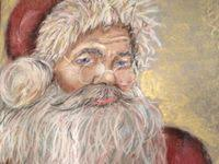 80+ Best <b>Santa</b> Paintings images in 2020 | <b>santa</b> paintings ...
