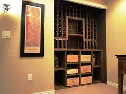 image of custom wine rack furniture box version modern wine cellar