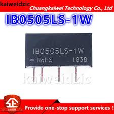 <b>IB0505LS 1W</b> Voltage stabilized power module <b>5V to 5V DC DC</b> ...