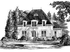 Creole Style Homes   Country House Plans   Southern Living House    Eplans French Country House Plan   Clayfield Place from The Southern Living