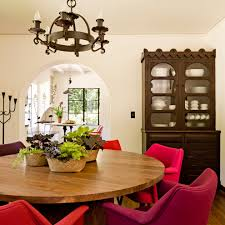 Dining Room Tables Portland Or Glamorous Pink Chair Trend Portland Mediterranean Dining Room