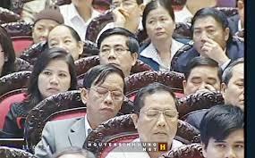 Kết quả hình ảnh cho đại biểu quốc hội ngủ gật