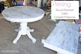 Of Painted Dining Room Tables A Bubbly Life How To Paint A Dining Room Table Amp Chairs Makeover
