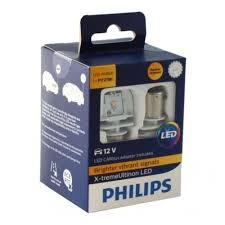 <b>Лампа PHILIPS PY21W</b> LED AMBER X-treme Ultinon с ...