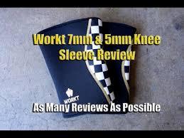 Workt <b>7mm</b> & 5mm Ecoprene <b>Knee Sleeves</b> - Best <b>Knee Sleeves</b> ...