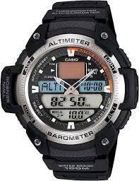 Наручные <b>часы Casio</b> Collection SGW-400H-1B — купить в ...