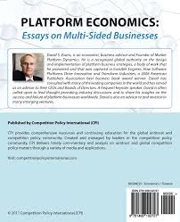 platform economics essays on multi sided businesses david s platform economics essays on multi sided businesses david s evans 9781468102727 com books