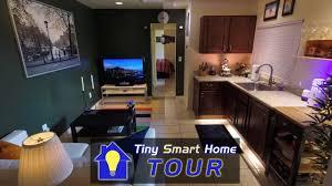<b>High</b>-<b>Tech</b>, Small Space: The Tiny <b>Smart</b> Home Tour! - YouTube