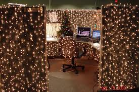 christmas cubicle decorations lights best office christmas decorations
