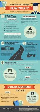 accepted to college now what ly accepted to college now what infographic