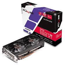<b>Sapphire</b> Radeon RX 5500 XT Pulse 4GB Video Card - <b>11295</b>-<b>03</b>-<b>20G</b>