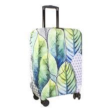 Чехол на <b>чемодан PROFFI TRAVEL</b> Экзотика размер L-большие ...