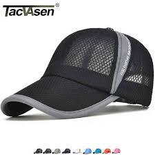 TACVASEN Mesh <b>Baseball</b> Cap <b>Quick Dry Summer</b> Breathable Cap ...