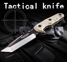 LAOGOU Caming Survival Knife G10 Handle High Quality Hunting ...