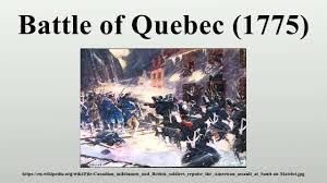 「Battle of Quebec」の画像検索結果