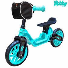 <b>Беговел ОР503 Hobby</b> bike Magestic, цвет - aqua black от <b>RT</b> ...