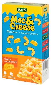 <b>Foody Foody Макароны Mac&Cheese</b> с сырным соусом Чеддер ...