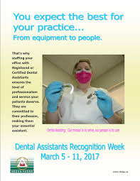home page new brunswick dental association help us celebrate the dental assistants recognition week print the poster and display it where everyone can see it