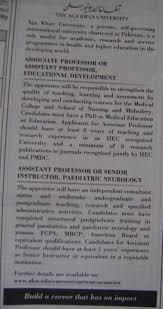 assistant professor archives jhang jobs educational development job aga khan university job associate professor assistant professor 11