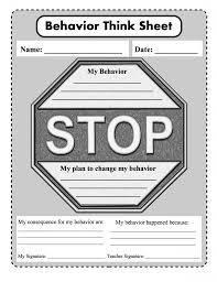 behavioral think sheet for schools based on pride p positive r behavioral think sheet for schools based on pride p positive r respectful