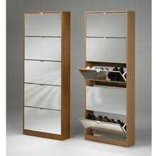 super quality closed iron shoe cabinet design black white color shoe rack standing mirror shoe black color shoe rack storage sliding