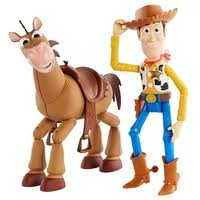 <b>Игровой набор Mattel</b> Toy Story 4 Вуди и Буллзай GGB26 ...