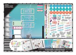 The Happy Planner® 12 Month Box Kit - <b>Sweat Smile Repeat</b>