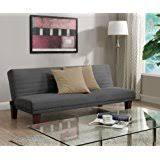dhp dillan convertible futon gray aria futon sofa bed