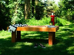 a sturdy bench with a classic look provides a great accent in any yard follow our simple garden bench plans to build your own cedar bench plans