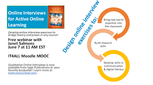 online interviews for active online learning webinar methodspace online interviews for active online learning webinar